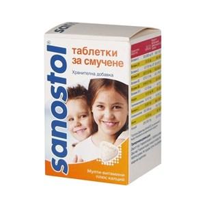 Снимка на Саностол таблетки за смучене х 30