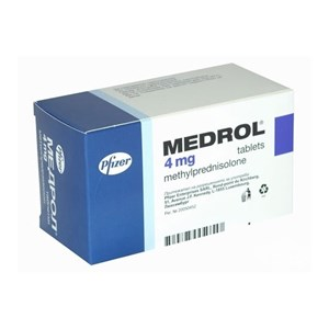 Снимка на Медрол таблетки 4 мг х 100