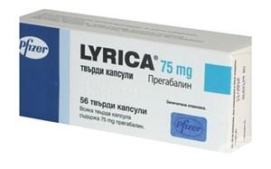 Снимка на Лирика капсули 75 мг х 56